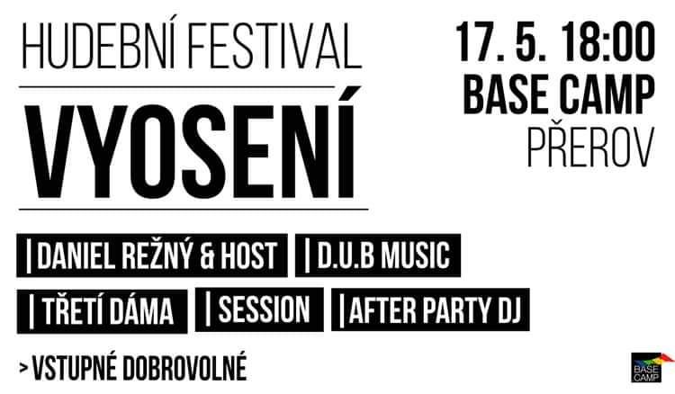 Hudební festival VyOsení rozezní centrum Přerova