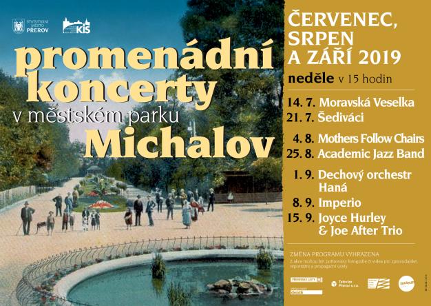 Promenádní koncerty v Michalově budou pokračovat o prázdninách i v září