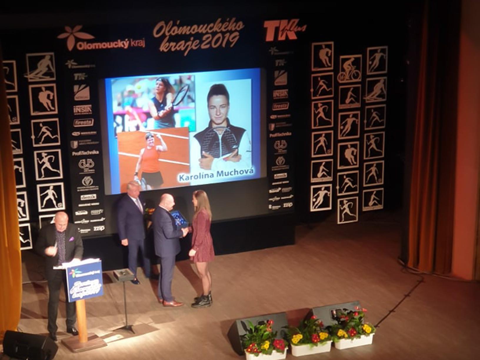 Sportovcem roku je tenistka Muchová. Mezi týmy jsou nejlepší volejbalistky Olomouce