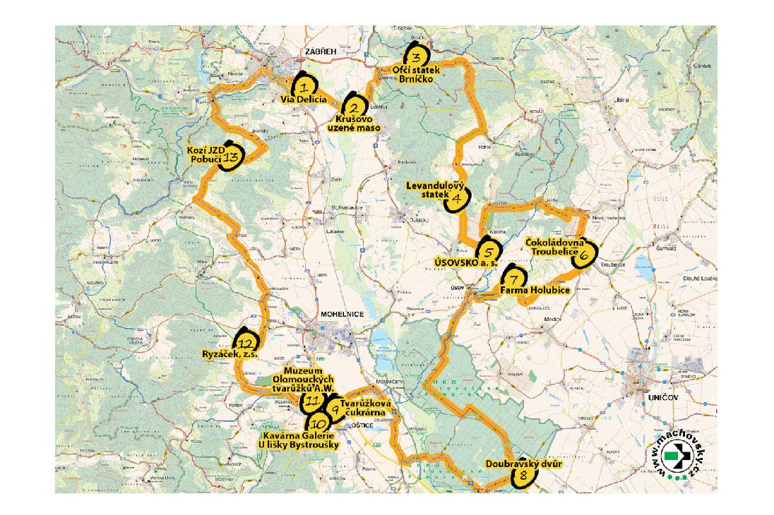 Jízdu Olomouckým krajem si teď vychutnáte. Doslova