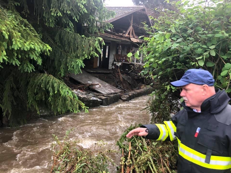 Zaplavené obce v tom nenecháme. Kraj vyzývá k pomoci a chystá vyhlášení sbírky