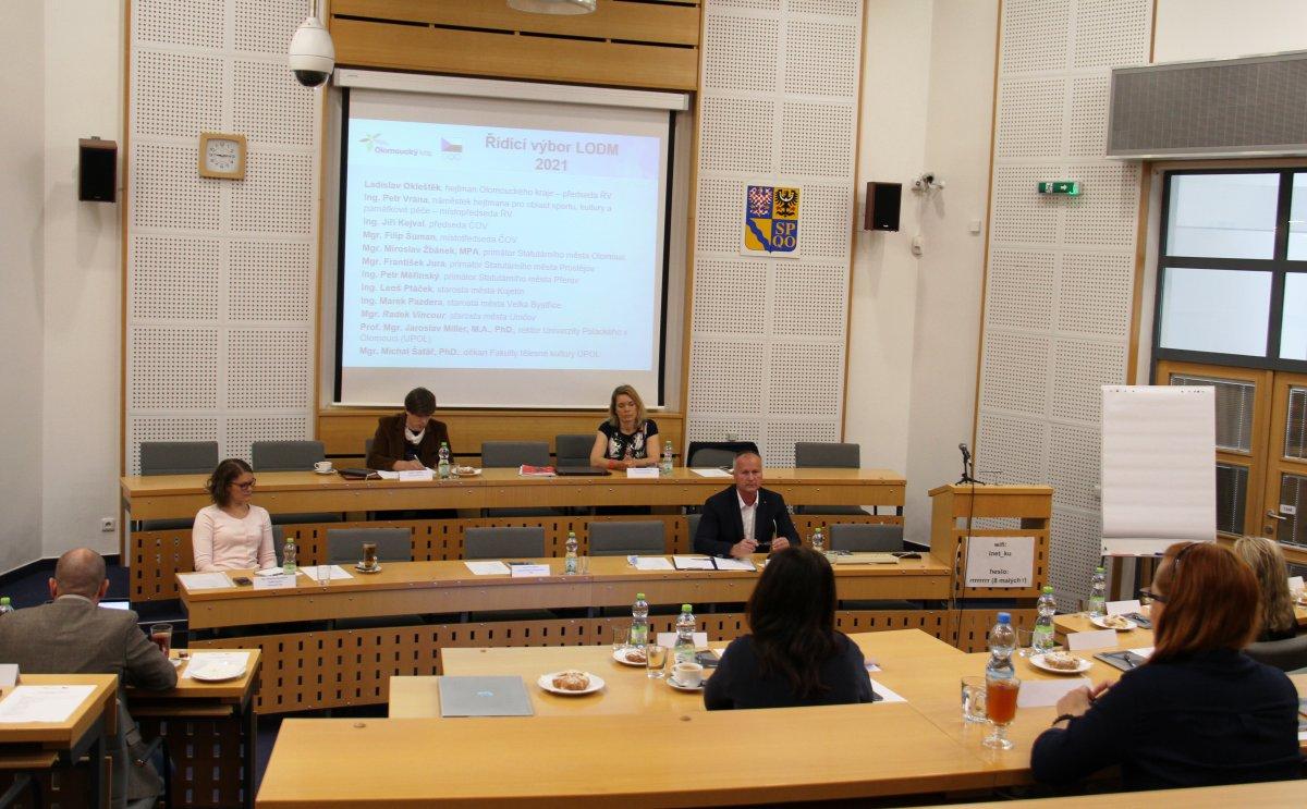 Rok do dne D. Olympiáda dětí a mládeže v Olomouckém kraji už se chystá