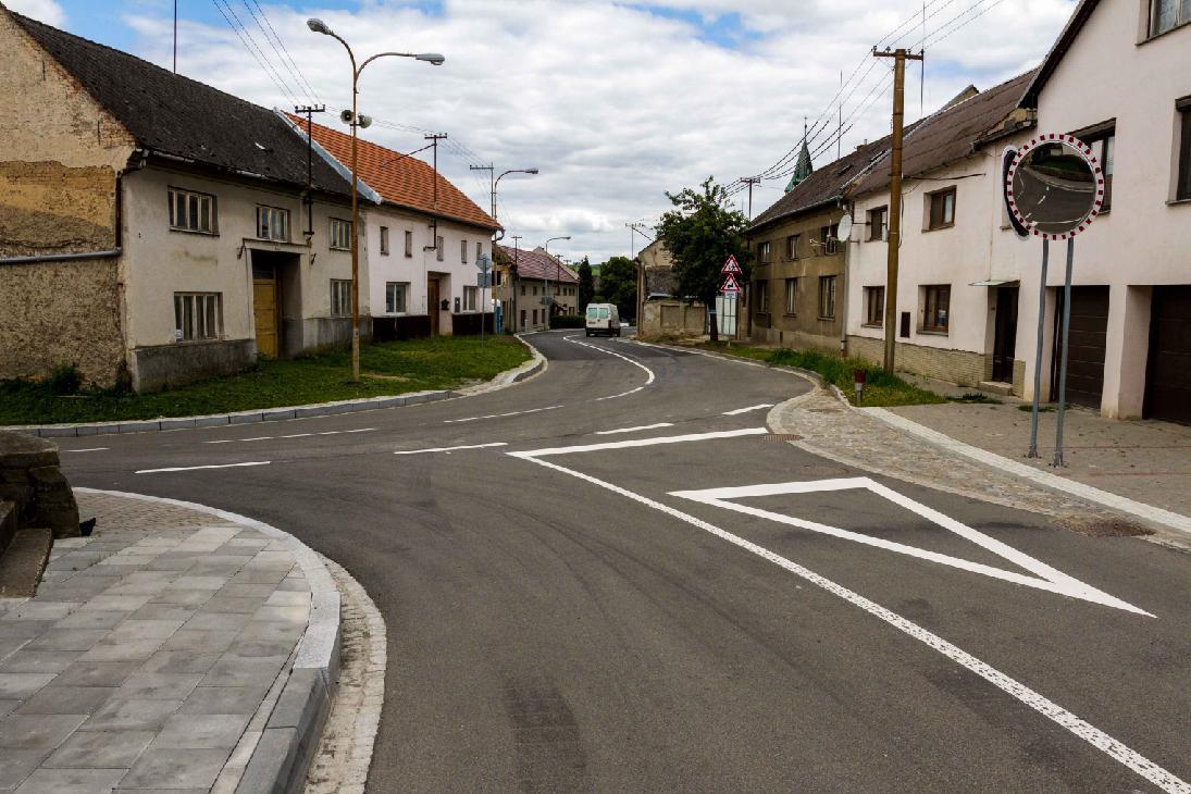 Stařechovice mají novou bezpečnější cestu