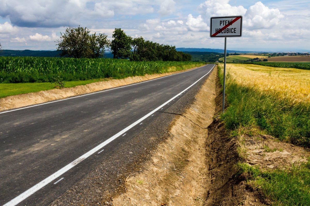 Kraj opravil na Prostějovsku další silnici