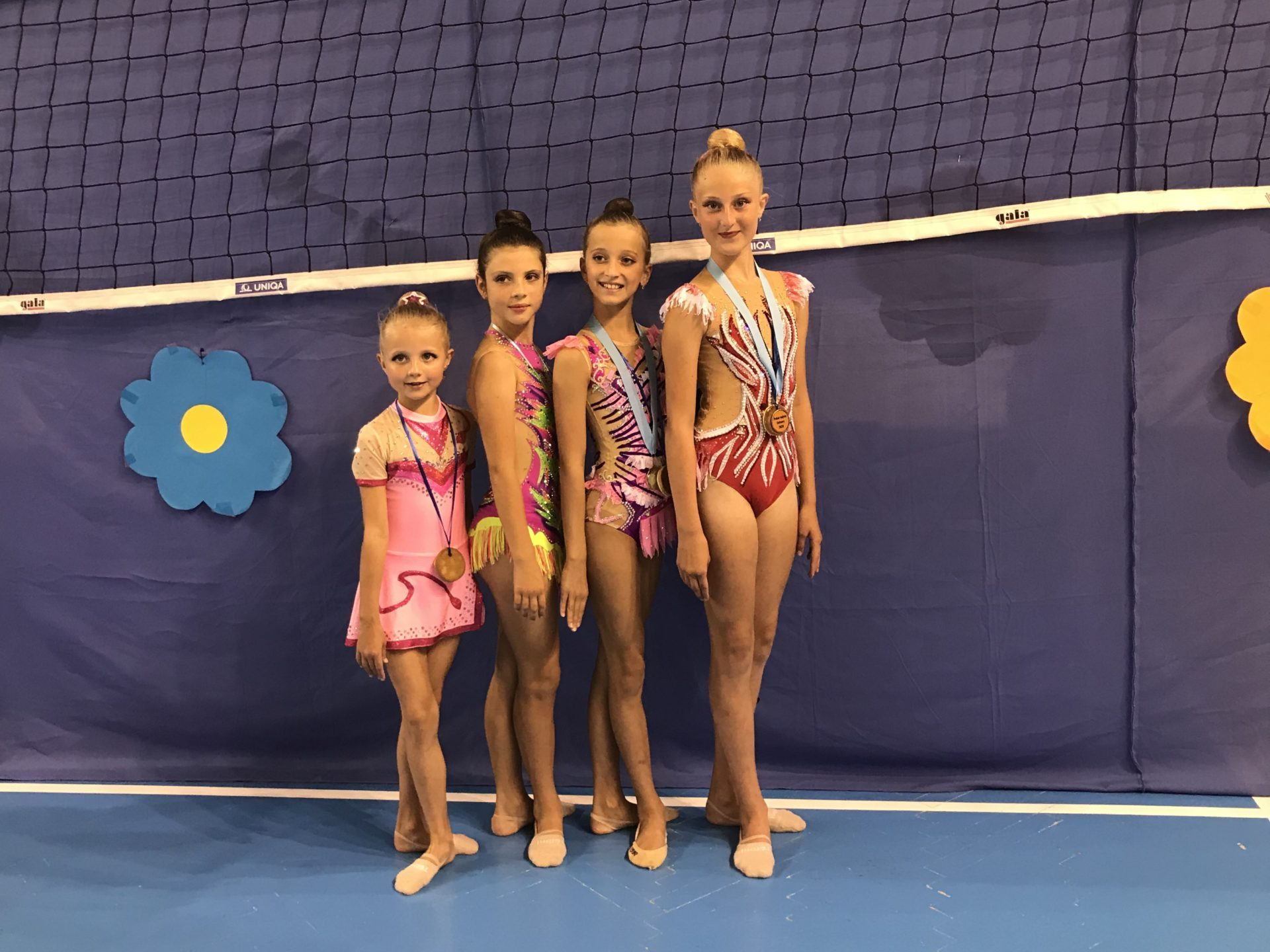 Přerovské gymnastky sbíraly v Ostravě cenné kovy