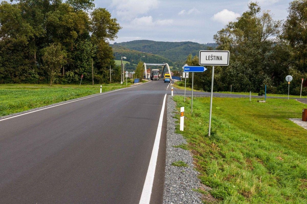 Investice do silnic na severu se vyplatily. Řidiči dojedou bezpečněji k hranicím sousedního okresu i do Polska