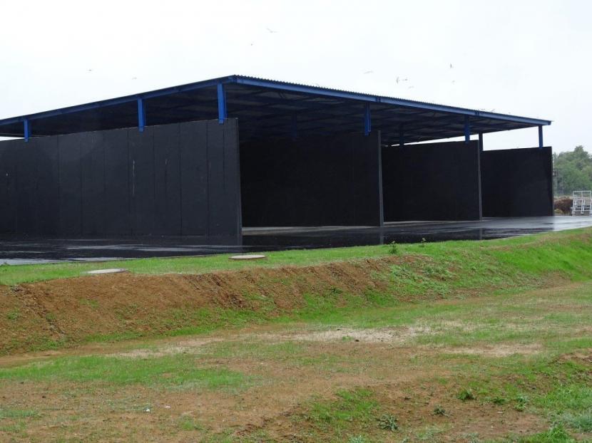 Rozšířená kompostárna v Žeravicích zahájila zkušební provoz