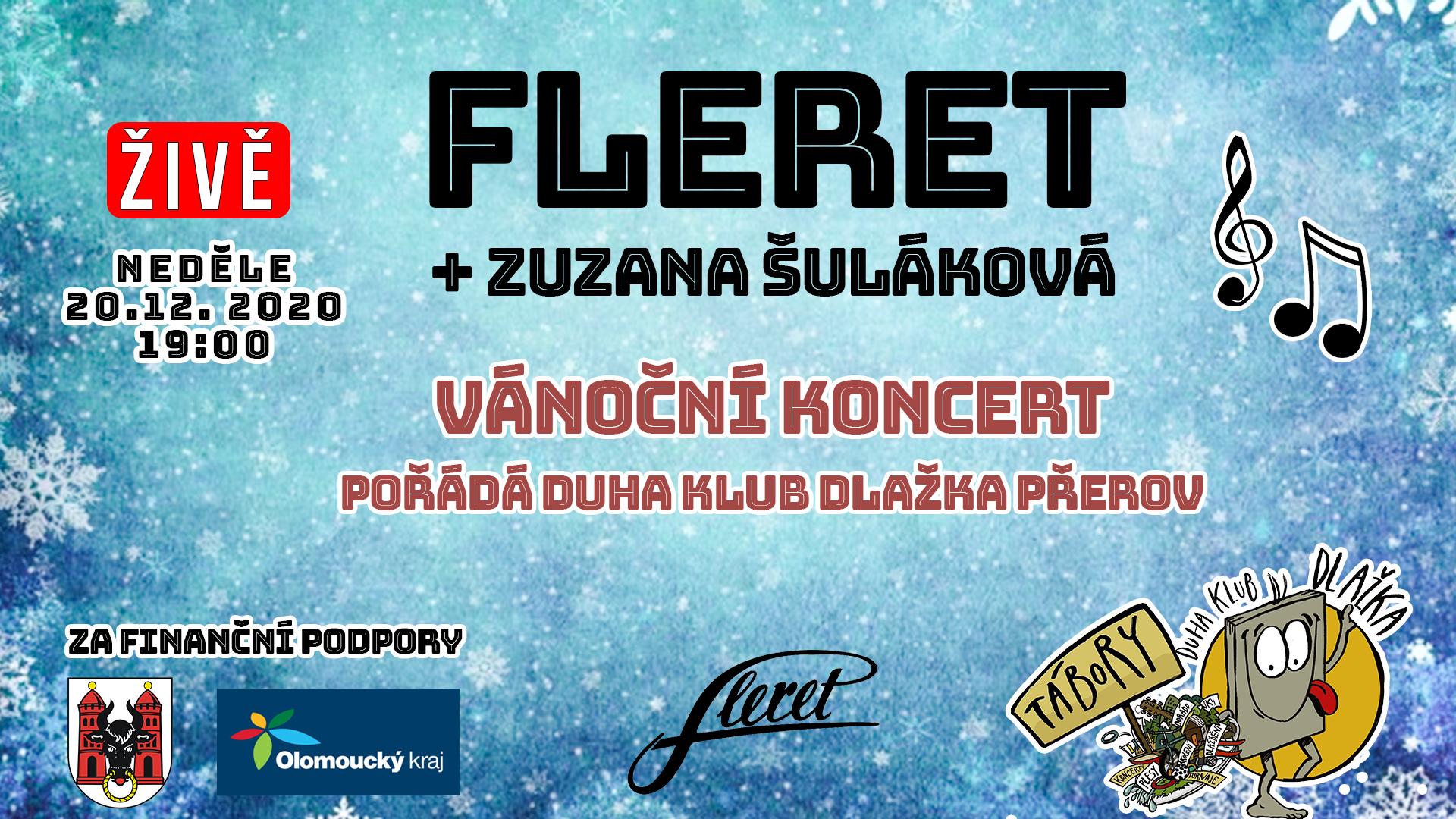 Online koncert kapely Fleret z přerovského Klubu Teplo už tuto neděli