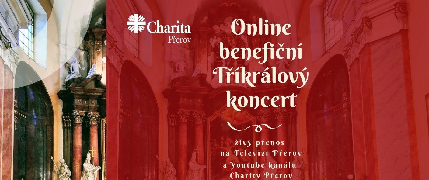 Už dnes online benefiční koncert Charity Přerov z kostela sv. Vavřince
