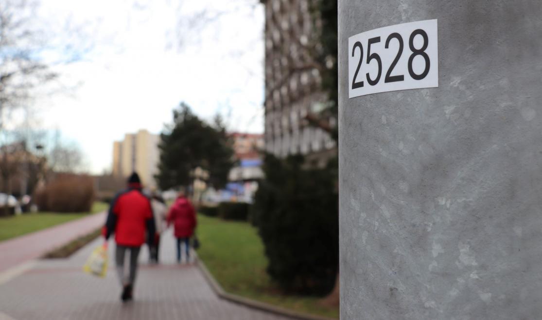 Sloupy v Přerově obdržely číselné značení, které pomůže záchranným složkám